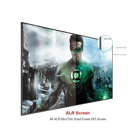 Dopah 4K ALR Ultra Thin Fixed Frame UST Screen