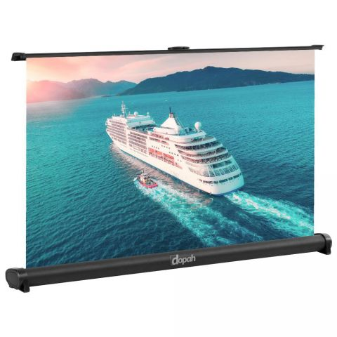 "Dopah 50"" Portable Table Top Projection Screen (4:3 format)"