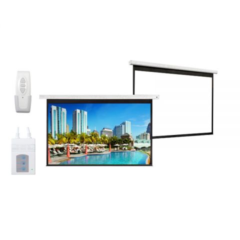 """DP Motorized/Electric Projection Screen 60"""" x 60"""""""