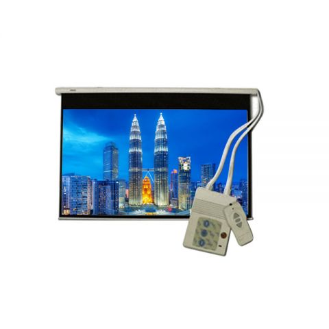 """DP Motorized/Electric Projection Screen 70"""" x 70"""""""