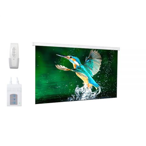 "DP Motorized/Electric Projection Screen 92""D (45.1"" x 80.2"")"