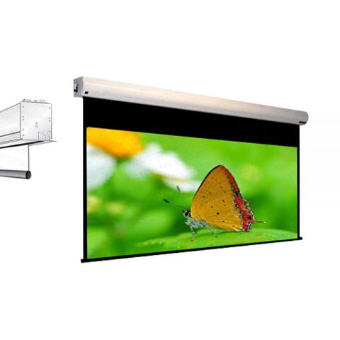 Draper Targa Motorized Screen 14' x 14'