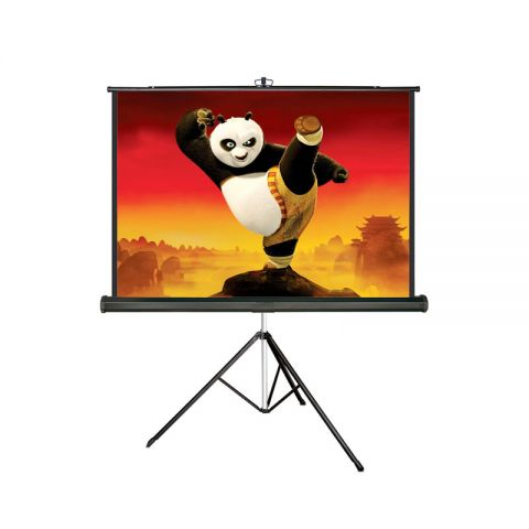 "Meki EZ Tripod Screen 84"" x 84"" (7' x 7') Matt & White"