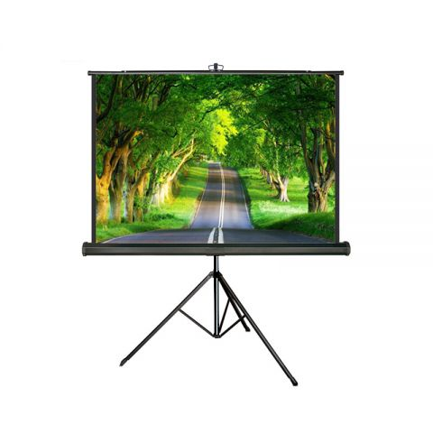 "Meki EZ Tripod Screen 70"" x 70"" (6' x 6') Matt White"