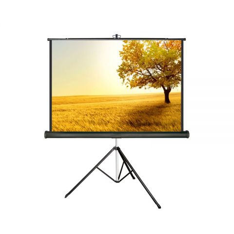 "Meki EZ Tripod Screen 72"" x 96"" (120""D) Matt White"