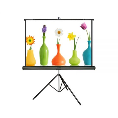 "Meki EZ Tripod Screen 96"" x 96"" (8' x 8') Matt White"
