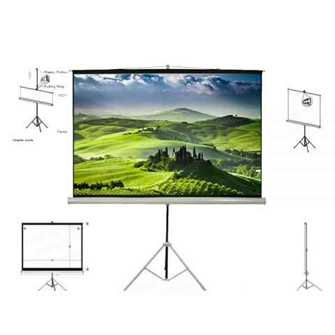 Unic Tripod Screen TMS-150 (5' x 5')