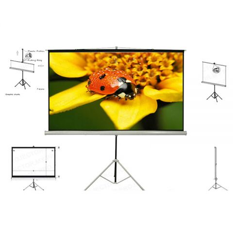 Unic Tripod Screen TMS-210 (7' x 7')