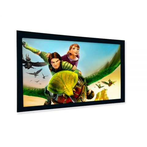 "Venova Fixed Frame Screen 151""D (73.1"" x 131.6"")"