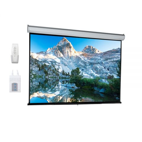 "Venova Motorized Projection Screen 84"" x 84"""
