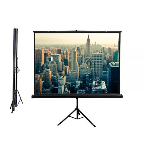 "Venova Tripod Screen 84"" x 84"" (7' x 7')  Matt White"