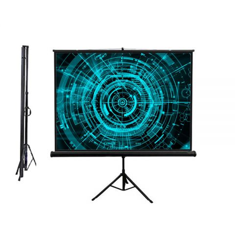 "Venova Tripod Screen 96"" x 96"" (8' x 8') Matt White"