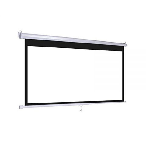 "Venova Wall Screen 90"" X 120""(150""D) Matt White"