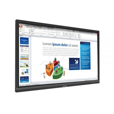 "ViewSonic IFP6550 65"" 4K Ultra HD ViewBoard Interactive Flat Panel"