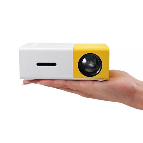 YG300 Ultra Portable Mini Projector (With Built In Battery)